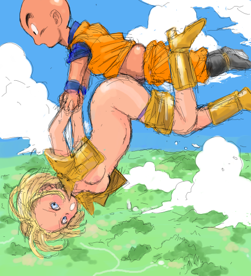 krillin and android hentai 18 Shae a song of ice and fire