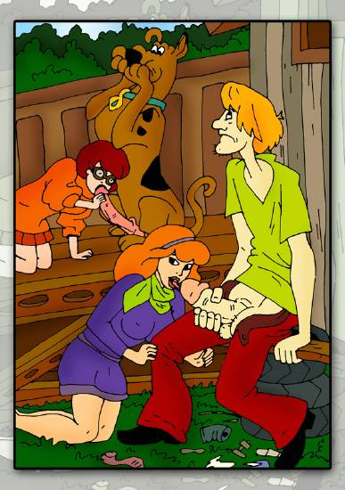 scare scooby doo camp trudy Carole and tuesday