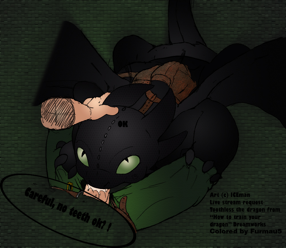 train how dragon nude to your Under her tail full comic