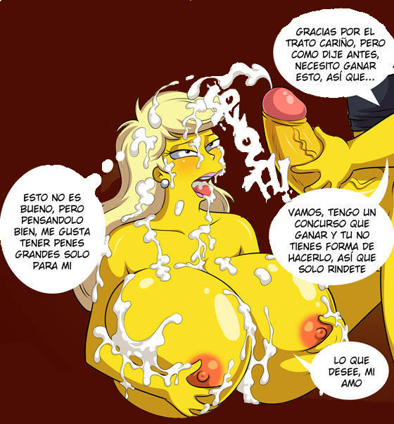 marge simpsons the naked from Yin yang yo