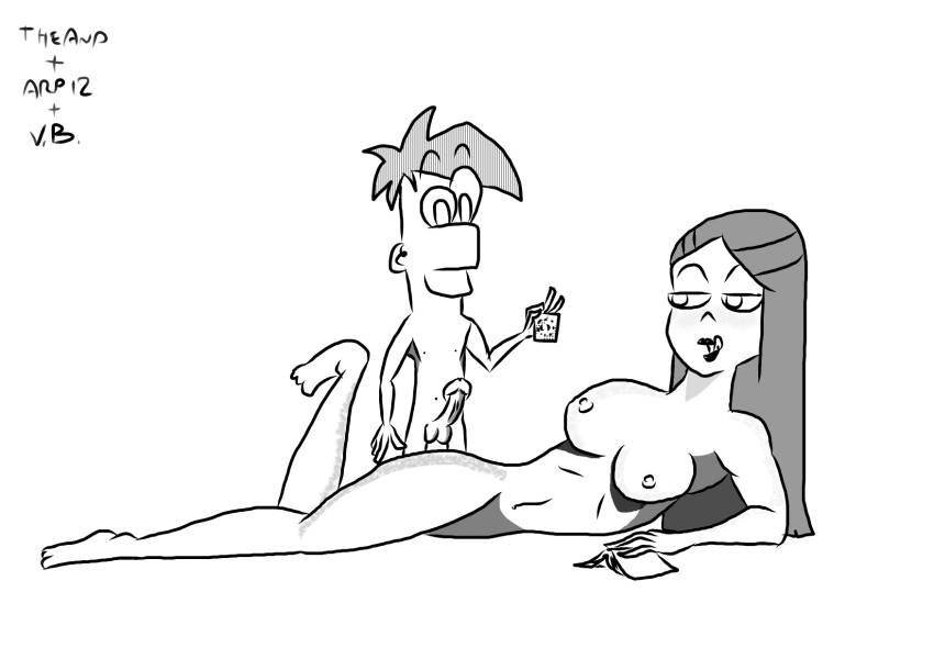 ferb and vanessa from phineas Avatar the last airbender henta