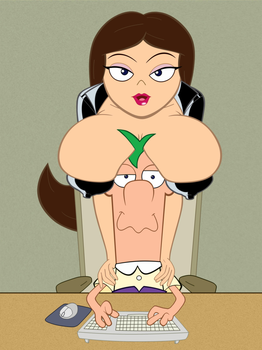 and from ferb phineas vanessa Girls in see through clothing